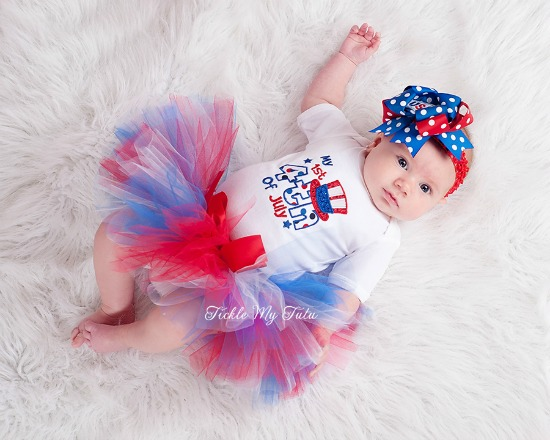 My First Fourth of July Tutu Set