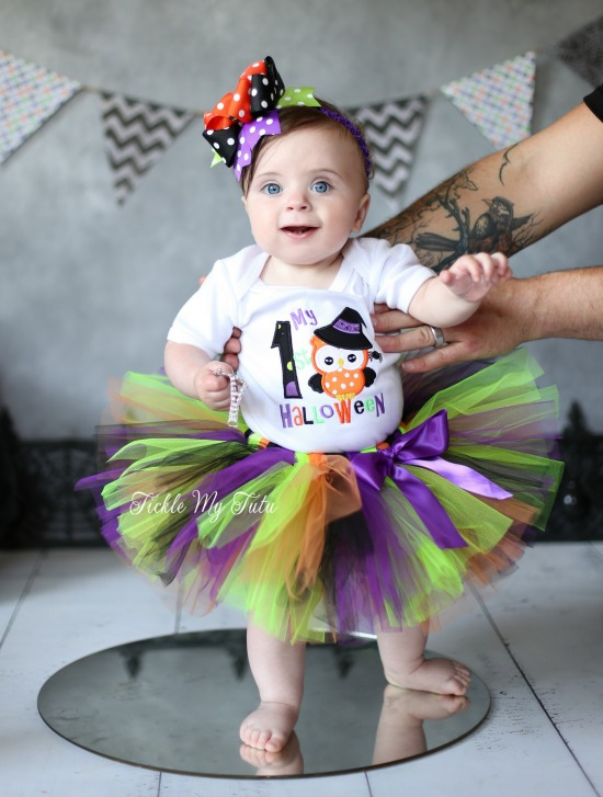 My First Halloween Tutu Outfit (owl theme) - My First Halloween Tutu Outfit Owl Theme