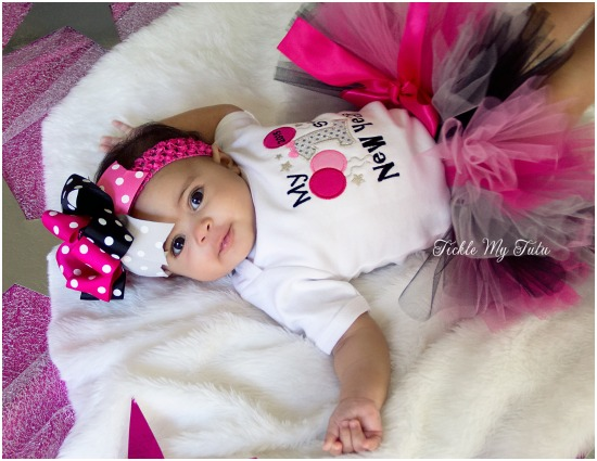 My First New Year Tutu Outfit
