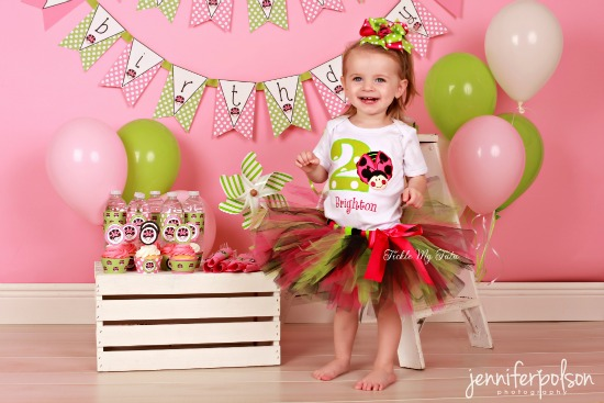 Oh So Sweet Ladybug Birthday Tutu Outfit