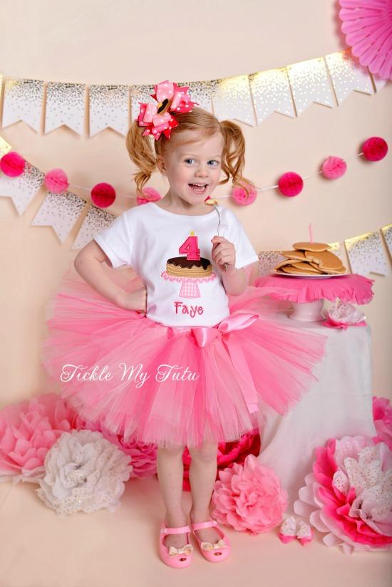 Pancakes and Pajamas Birthday Tutu Outfit