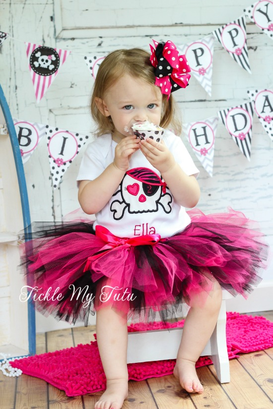 Pirate Princess Birthday Tutu Outfit