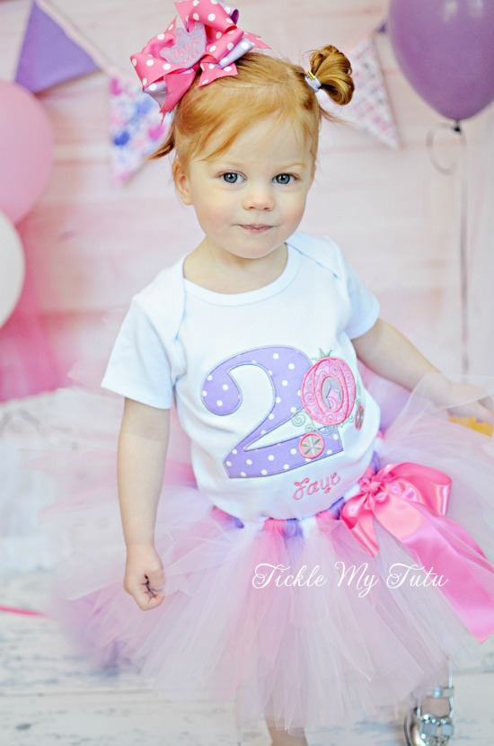 Princess Carriage Birthday Tutu Outfit