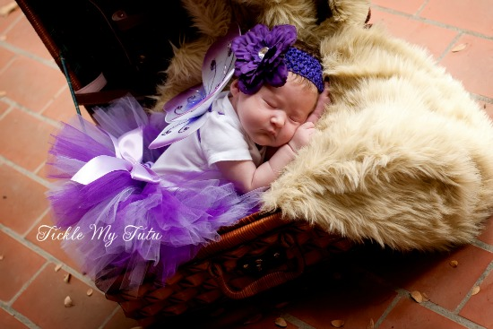 Butterfly Costume Photography Prop (purple)