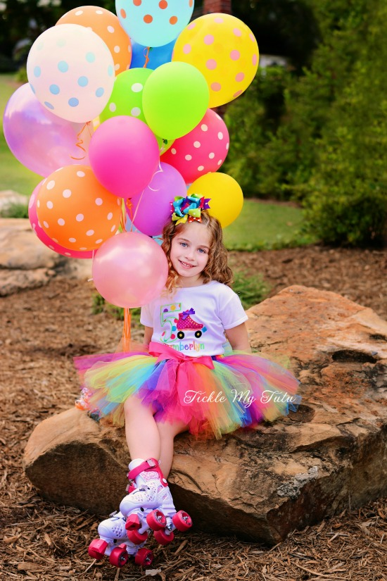 Roller Skating Birthday Tutu Outfit (Chamberlyn)