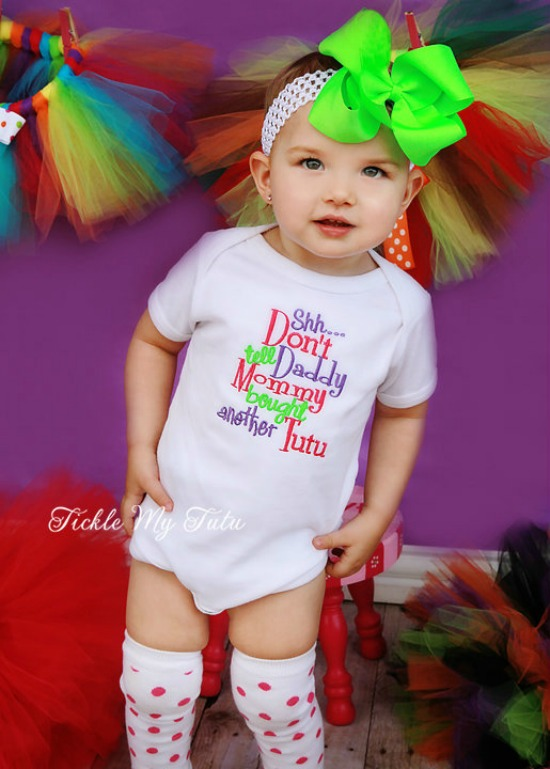Shhh Don't Tell Daddy Mommy Bought Another Tutu