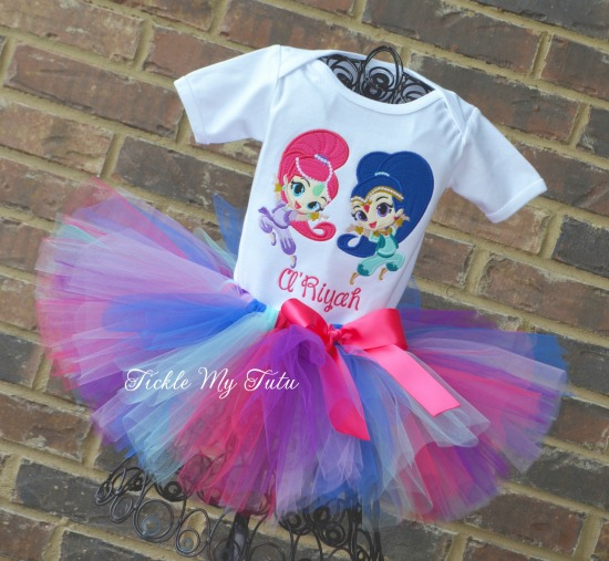 Shimmer and Shine Tutu Outfit