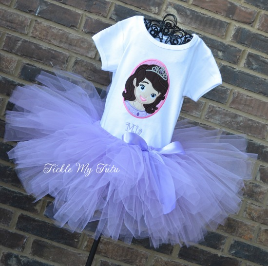 Sofia the First Inspired Tutu Outfit