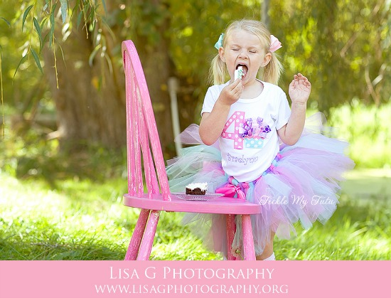 Sweet as a Cupcake 3d Birthday Tutu Outfit