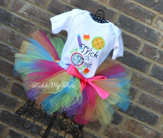 Trick or Treat Candy Shoppe Halloween Tutu Outfit