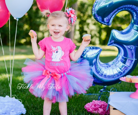 Enchanted Unicorn Birthday Tutu Outfit