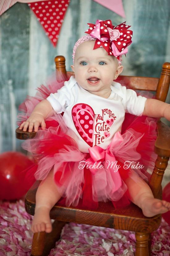 Valentine Cutie Pie Tutu Outfit