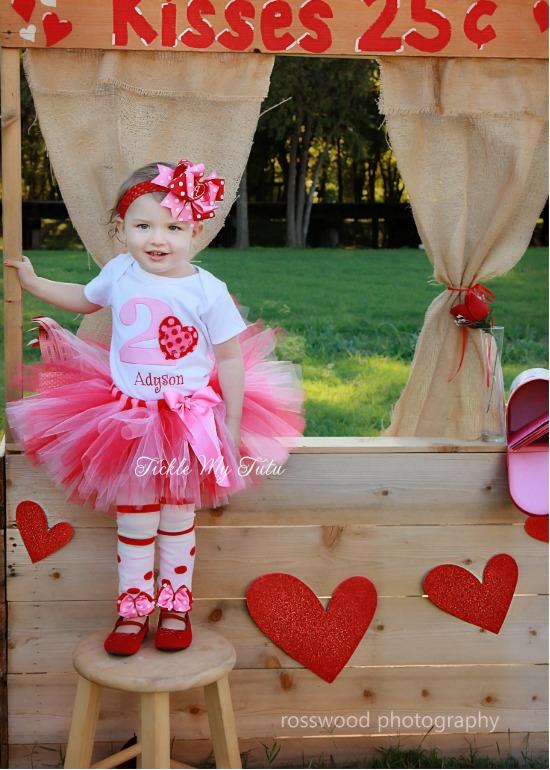 Valentine Sweetheart Birthday Tutu Outfit